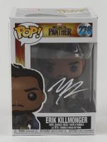 """Michael B. Jordan Signed """"Black Panther"""" #278 Erik Killmonger Funko Pop! Vinyl Figure (PSA COA) at PristineAuction.com"""