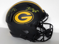 Za'Darius Smith & Preston Smith Signed Packers Full-Size Eclipse Alternate Speed Helmet (Beckett COA) at PristineAuction.com
