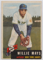 Willie Mays 1953 Topps #244 at PristineAuction.com