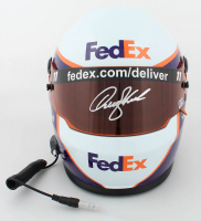 Denny Hamlin Signed NASCAR FedEx Full-Size Helmet (PA COA) at PristineAuction.com