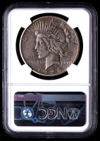 Mint Error - 1926-S Peace Silver Dollar, Reverse Lamination (NGC XF45) at PristineAuction.com