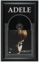 "Adele Signed ""19"" 19.5x31.5 Custom Framed Vinyl Record Album Display (JSA LOA) at PristineAuction.com"