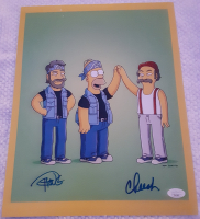 "Cheech Marin & Tommy Chong Signed ""The Simpsons"" 11x14 Photo (JSA Hologram) at PristineAuction.com"