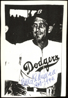 "Bill Lohrman Signed Dodgers 3.25x4.75 Photo Print Inscribed ""1943-1944"" (JSA COA) at PristineAuction.com"