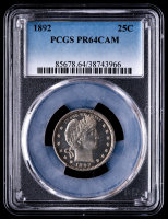 1892 U.S. Mint Six Piece Proof Set (PCGS PR63-64) at PristineAuction.com