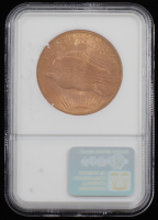 1908 $20 Saint-Gaudens Double Eagle Gold Coin - No Motto (NGC MS 66) at PristineAuction.com