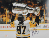Sidney Crosby Signed Penguins 11x14 Photo (PSA COA) at PristineAuction.com