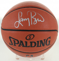 Larry Bird Signed NBA Game Ball Series Basketball (Beckett COA) at PristineAuction.com