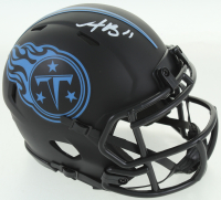 A. J. Brown Signed Titans Eclipse Alternate Speed Mini Helmet (JSA COA) at PristineAuction.com