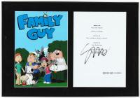 "Seth Green Signed ""Family Guy"" 13x19 Custom Framed Script Cover Display (JSA ALOA) at PristineAuction.com"