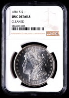 1881-S Morgan Silver Dollar (NGC UNC Details) at PristineAuction.com