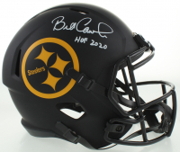 "Bill Cowher Signed Steelers Full-Size Eclipse Alternate Speed Helmet Inscribed ""HOF 2020"" (JSA COA) at PristineAuction.com"