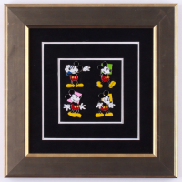 "Walt Disney's ""Mickey Mouse"" 10.5x10.5 Custom Framed Limited Edition Art Pin Set Display at PristineAuction.com"