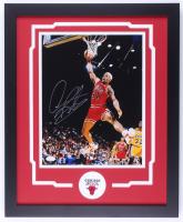 Dennis Rodman Signed Bulls 18x22 Custom Framed Photo Display (JSA COA) at PristineAuction.com