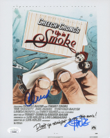 """Cheech Marin & Tommy Chong Signed """"Up In Smoke"""" 8x10 Photo (JSA COA) at PristineAuction.com"""