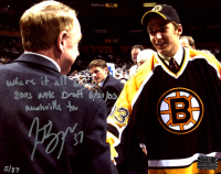 Patrice Bergeron Signed LE Bruins 8x10 Photo with Inscription (Bergeron COA) at PristineAuction.com