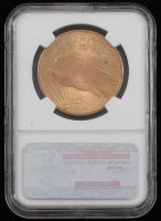 1924 $20 Saint-Gaudens Double Eagle Gold Coin (NGC MS 66) at PristineAuction.com