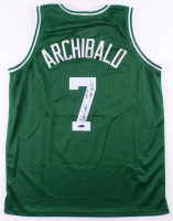 "Nate ""Tiny"" Archibald Signed Jersey Inscribed ""HOF 91"" & ""NBA Top 50"" (TriStar Hologram) at PristineAuction.com"