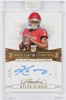 Kyler Murray 2019 Panini Flawless Collegiate Rookie Gems Signatures #145 RC at PristineAuction.com