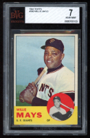 Willie Mays 1963 Topps #300 (BVG 7) at PristineAuction.com
