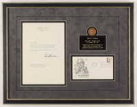 Harry S. Truman Signed 16x21 Custom Framed Letter Display (JSA LOA) at PristineAuction.com