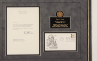 Harry S. Truman Signed 16x21 Custom Framed Letter Display (JSA LOA) at PristineAuction.com