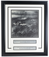 United States Marine Corps 17x18 Custom Framed Photo Display at PristineAuction.com
