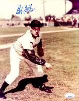 Bob Feller Signed Indians 8x10 Photo (JSA COA) at PristineAuction.com