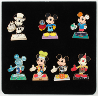 Walt Disney Mickey Mouse Set of (7) Pins at PristineAuction.com