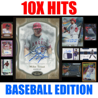 Mystery Ink 10X Hits Baseball Edition - 10 Autos / Jerseys / Relics Cards in Every Pack! at PristineAuction.com