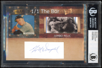 Gil McDougald 2019 The Bar Pieces of the Past #NNO (BGS Encapsulated) at PristineAuction.com