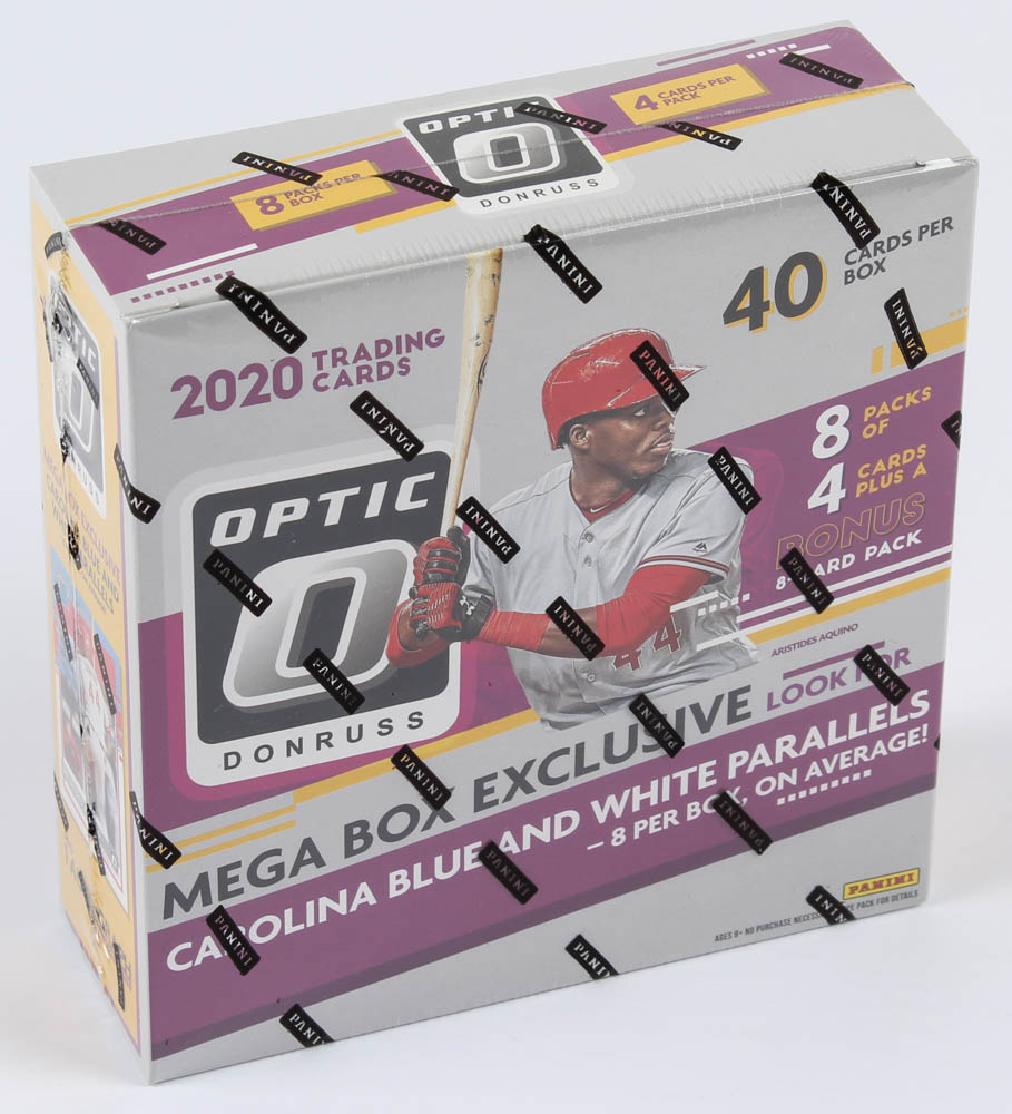 2020 Panini Donruss Optic Baseball Mega Box of (8) Packs at PristineAuction.com