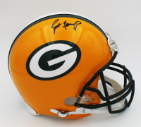 Brett Favre Signed Packers Full-Size Authentic On-Field Helmet (Radtke COA) at PristineAuction.com