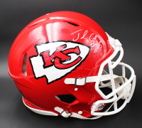 Jamaal Charles Signed Chiefs Full-Size Authentic On-Field Speed Helmet (Beckett COA) at PristineAuction.com