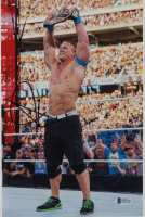 John Cena Signed WWE 8x12 Photo (Beckett COA) at PristineAuction.com
