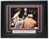 "Sean ""Sugar"" O'Malley Signed 11x14 Custom Framed Photo (JSA Hologram) at PristineAuction.com"