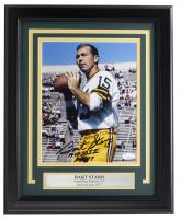 "Bart Starr Signed Packers 11x14 Custom Framed Photo Inscribed ""MVP SB I II"" & ""HOF 77"" (JSA COA) at PristineAuction.com"