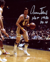 """Jerry West Signed Lakers 8x10 Photo Inscribed """"HOF 1980"""" & """"2010"""" (JSA COA) at PristineAuction.com"""