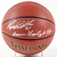 "Dominique Wilkins Signed NBA Basketball Inscribed ""Human Highlight Film"" (Schwartz Sports COA) at PristineAuction.com"