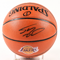 Shaquille O'Neal Signed NBA Game Ball Series Lakers Logo Basketball (Schwartz Sports COA) at PristineAuction.com