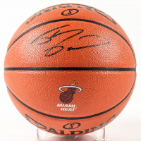 Shaquille O'Neal Signed NBA Game Ball Series Heat Logo Basketball (Schwartz Sports COA) at PristineAuction.com