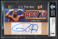 Roy Jones Jr 2019 The Bar Pieces of the Past #NNO / Super Break Certified (BGS 9) at PristineAuction.com