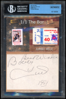 Bobby Hull 2019 The Bar Pieces of the Past #NNO (BGS Encapsulated) at PristineAuction.com