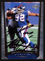 Michael Strahan Signed 1998 Upper Deck #172  (JSA COA) at PristineAuction.com