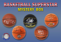 Schwartz Sports Basketball Superstar Signed Basketball Mystery Box - Series 17 (Limited to 75) (Pristine Exclusive Edition) at PristineAuction.com