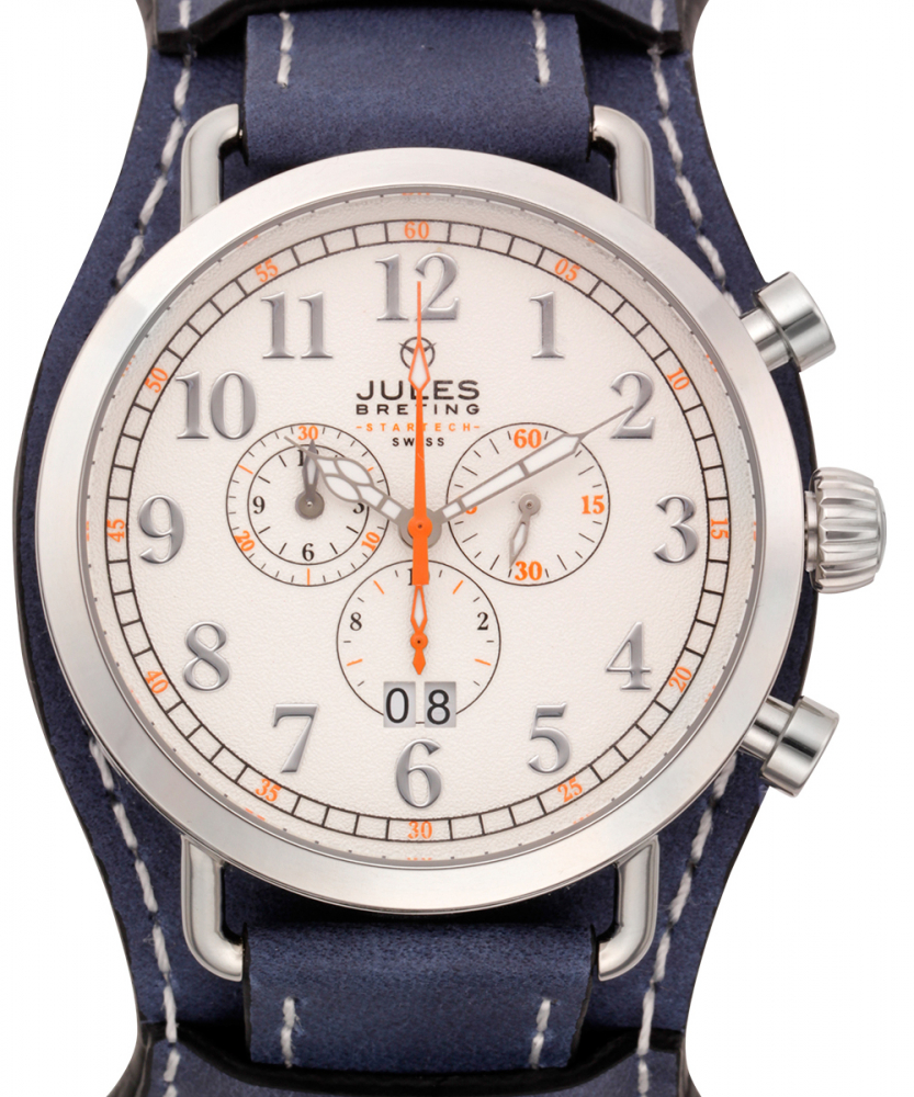 Jules Breting Discovery One Chronograph Mens Watch at PristineAuction.com