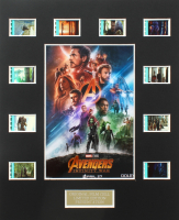 """The Avengers: Infinity War"" LE 8x10 Custom Matted Original Film / Movie Cell Display at PristineAuction.com"