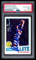Mitch Kupchak Signed 1977-78 Topps #128 RC (PSA Encapsulated) at PristineAuction.com