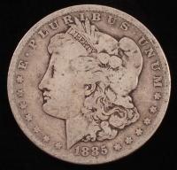 1885-O Morgan Silver Dollar at PristineAuction.com