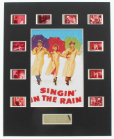"""""""Singin' in the Rain"""" LE 8x10 Custom Matted Original Film / Movie Cell Display at PristineAuction.com"""